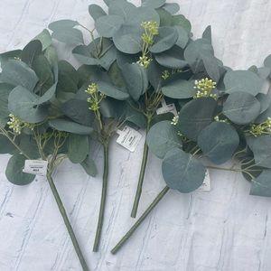 NWTags 4 pc set Hearth & Hand Eucalyptus Stems